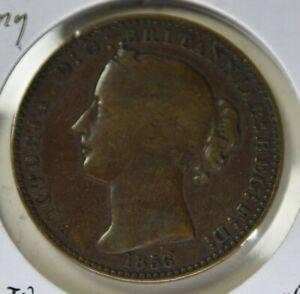 1856 Nova Scotia Penny VG-Fine