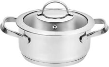 16CM JOMAFE INDUCTION CASSEROLE QUALITY STAINLESS STEEL