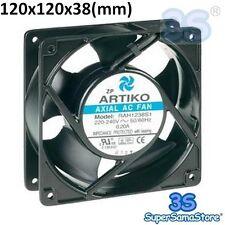3S Ventilatore ventola di raffreddamento assiale 120x120x38 mm 230V per FRIGO PC