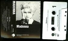 Madonna self titled 1983 USA Cassette Tape Columbia house