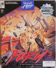 BOX GIOCO PC COMPUTER VINTAGE MICROSOFT FURY 3 CD-ROM GAME RETRO ITA  1995