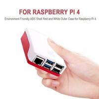 Official Raspberry Pi 4 Model B Case Red/White High-quality 2019New S3Z3