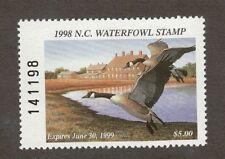 Nc16 - North Carolina State Duck Stamp. Mnh. Og.