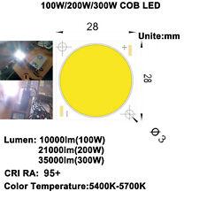 Hohe CRI Ra 95+ 100W/200W/300W COB LED Tageslicht weiß oder Heizkörper LED-Linse