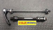 Quick Release Conversion Kit Bike wheel / hub Skewer Black Axle Set (Rear) 145mm