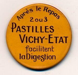 Miroir publicitaire de poche - Pastilles VICHY-ETAT - N° 47