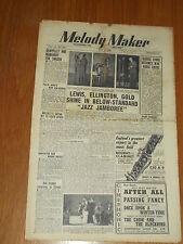 MELODY MAKER 1948 #769 MAY 1 JAZZ SWING GAPPELLY REINHARDT ELLINGTON BOB DRYDEN