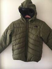 The North Face Junior Size Medium Reversible Padded Jacket Black / Khaki School