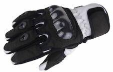 Bangla Motorradhandschuhe Motorrad Handschuh kurz weiss schwarz M
