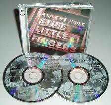 STIFF LITTLE FINGERS All the Best 1991 EMI Records 2CD Album