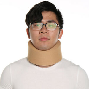 US Adjustable Neck Brace Support Wrap Soft Foam Cervical Collar Neck Pain Relief