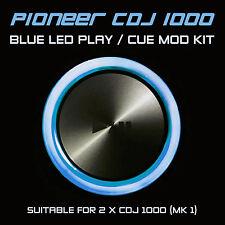PIONEER CDJ 1000 MK1 BLUE PLAY or CUE LED MOD KIT (FOR 2 x CDJS) DJM DDJ