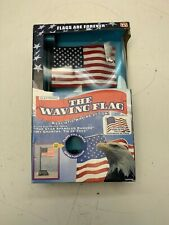 The Waving Flag Electronic American Flag As Seen On Tv Plays 2 Songs