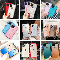 For iPhone 11 Pro Max Various Hot Sale Colorful Clear Ultra Thin Soft Case Cover