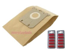 PHILIPS S Tipo Sacchetti Per Aspirapolvere Carta Hoover Polvere - 10 sacchetti + deodoranti per ambienti