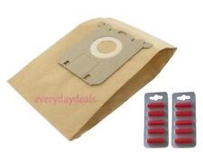 PHILIPS S Type Vacuum Cleaner Bags Hoover Paper Dust - 10 Bags + Air Fresheners