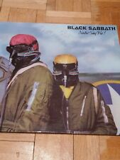 BLACK SABBATH NEVER SAY DIE! VINYL LP ALBUM RECORD-EX UK 9102751 VERTIGO.
