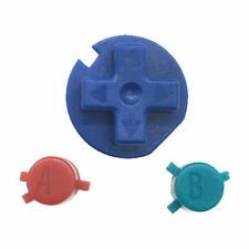 ZedLabz Pokemon Edition Button Set a B D-pad for Game Boy Color - Blue Red Green