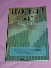 Leadership is an Art by Max DePree, a Book Every Manager Should Read