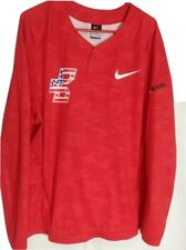 NEW MENS XL NIKE BSBL BASEBALL VAPOR LS WINDSHIRT JACKET WATER/WIND RESISTANT