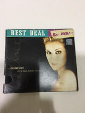Celine Dion BEST DEAL Rs 199 lets talk about love CD 2006 hologram RARE INDIA