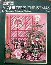 A Quilter's Christmas by Nancyann Johanson Twelker B76 - That Patchwork Place