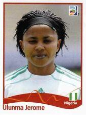 Panini FIFA World Cup 2011 Germany Women Sticker #70 Ulunma Jerome Nigeria