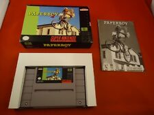 Paperboy 2 (Super Nintendo Entertainment System SNES 1991) COMPLETE Box manual O