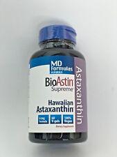 BioAstin Supreme Hawaiian Astaxanthin 6 mg 60 Vegan Soft Gels Exp 08/2020