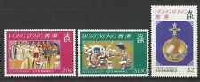 HONG KONG QE11 1977 SILVER JUBILEE SET MINT