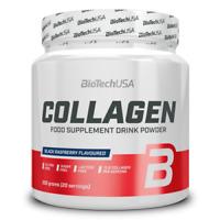 BioTech USA - Collagen, 300g - Kollagen, Bindegewebe, Gelenke + BONUS