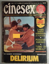CINESEX anno II n.26 - 1970 - Delirium - Janine Reynaud Jack Taylor