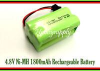 4.8V 2x2 AA Ni-MH 1800mAh 4-Cell Battery Pack w/. SM Plug for Double E E635-001