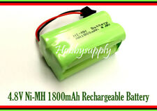 4.8V 2x2 AA Ni-MH 1800mAh 4-Cell Battery Pack w/. SM Plug for Double E E635-001