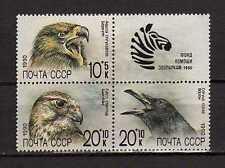 15240) RUSSIA 1990 MNH** Nuovi** Rapax Birds - Uccelli