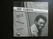 """EP JOE SIMON """"Bring it on home to me""""+2 Charly Records CTD 109 UK (1980)"""