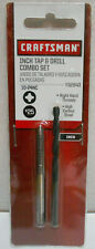 Lot of 2 New Craftsman 10-24 NC Tap & Drill Combo Sets 52843