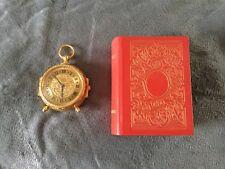 Imhof Trianon Livre D Heure 60er Jahre Vintage Uhr