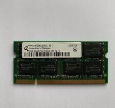Qimonda HYS64T256020EDL-3S-C 2GB 2Rx8 PC2-5300S-555-12-F0 DDR2 Server Memory/RAM