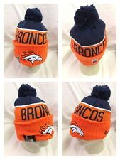 NFL Denver Broncos 2015 On Field Player Coach Sideline Sport Knit Hat Pom