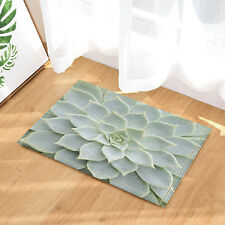 Door Mat Bathroom Rug Bedtoom Carpet Bath Mats Rug Non-Slip Cactus texture