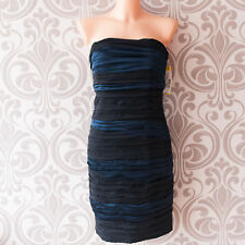 Alice and Olivia by Stace Bendet Designer tube dress black and navy size 6 NWT