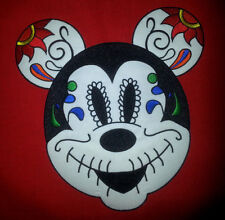 Mickey Mouse Sugar Skull Super large 9'' by 8.5'' Patch Free Shipping