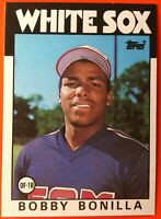 1986 Topps Traded #12T Bobby Bonilla XRC ROOKIE flawless