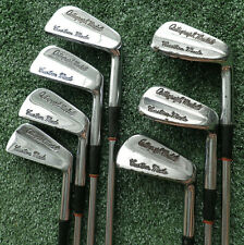 CUSTOM MADE AUTOGRAPH HERMAN KEISER GOLF CLUB SET 3-9 IRON RH STEEL SHAFT VTG