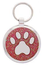 Pet Tags Dog Tags Custom Engraving Pawprint Dog Collar Id Pet Tag Dog Tag