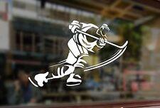 25x15cm Sticker Vinyl Decal Gamer Ice Hockey Player Car Auto Bumper Glass Laptop