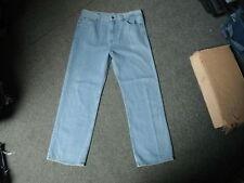 """Vintage Jeans Classic Fit Jeans Waist 34"""" Leg 30"""" Faded Light Blue Mens Jeans"""