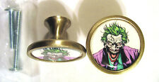 Joker Cabinet Knobs, The Joker Comic Logo Cabinet Knobs, Joker Knobs , Batman