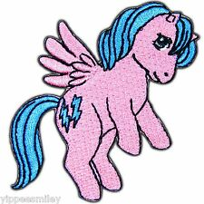 Cute Pony Horse Unicorn Pink Pinkie Thunder Kids Children Iron On Patches #0333